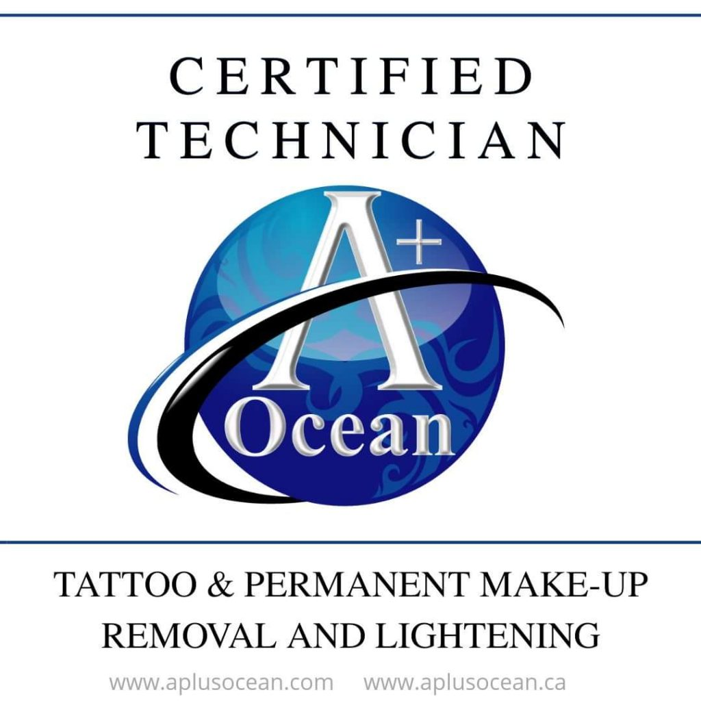 A+ Ocean Certified Technician Badge