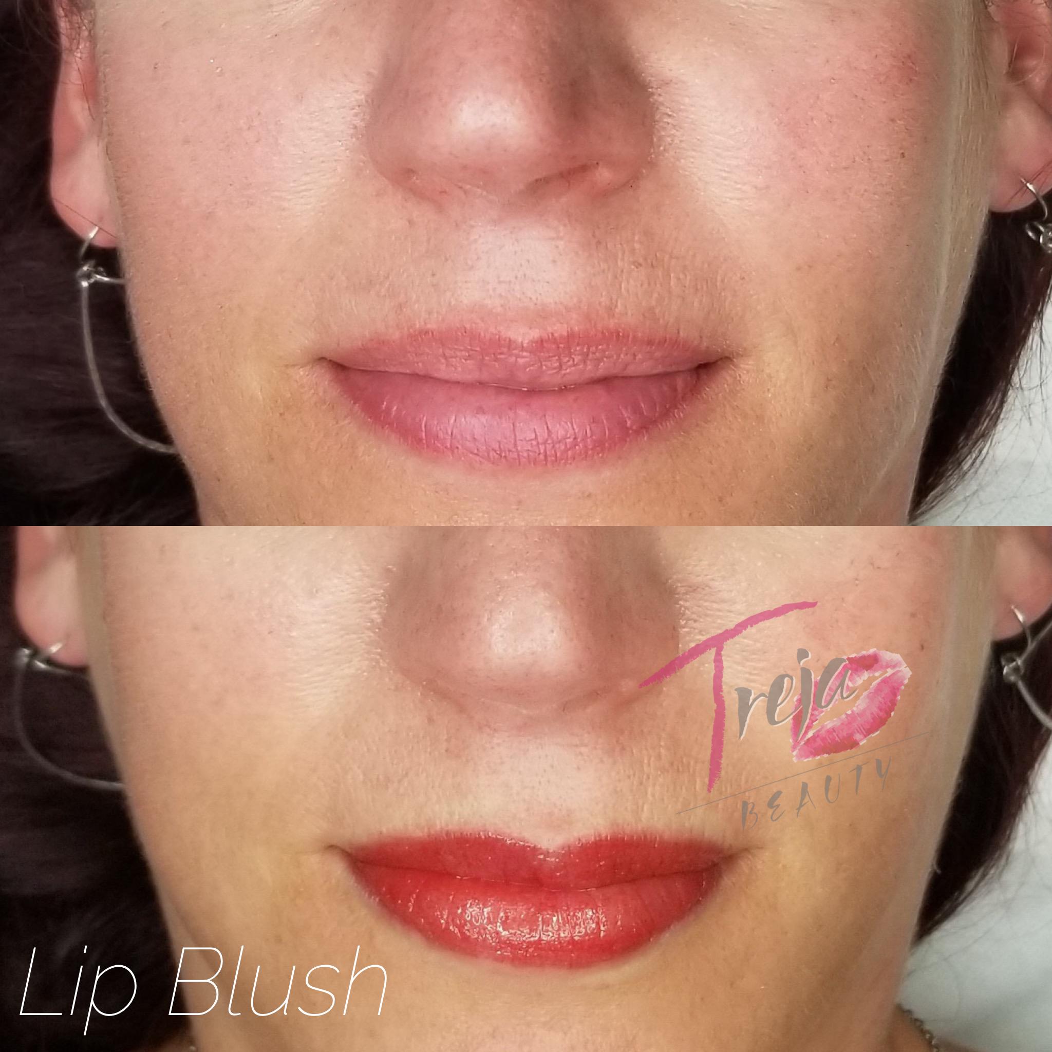 bold lip blush